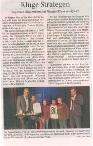 Siegener Zeitung vom 16.02.2014