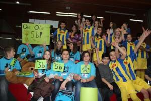Auch die Fans der Klassen waren mit einer super Stimmung dabei.