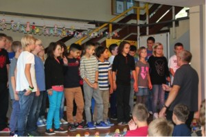 Musikalische Vorführung für die neuen Fünftklässler der GMS Burbach